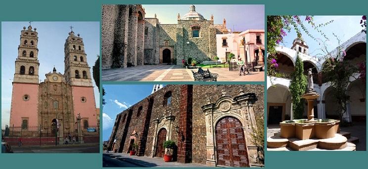 Templos y conventos en Salvatierra